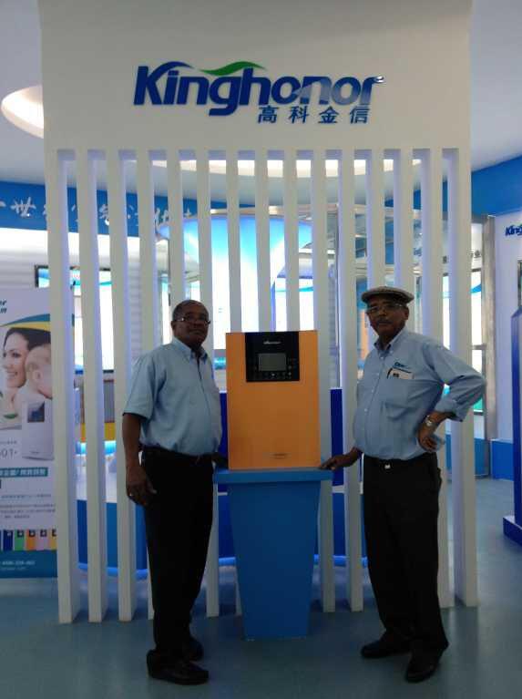 霍尔新风科技南非客户合影